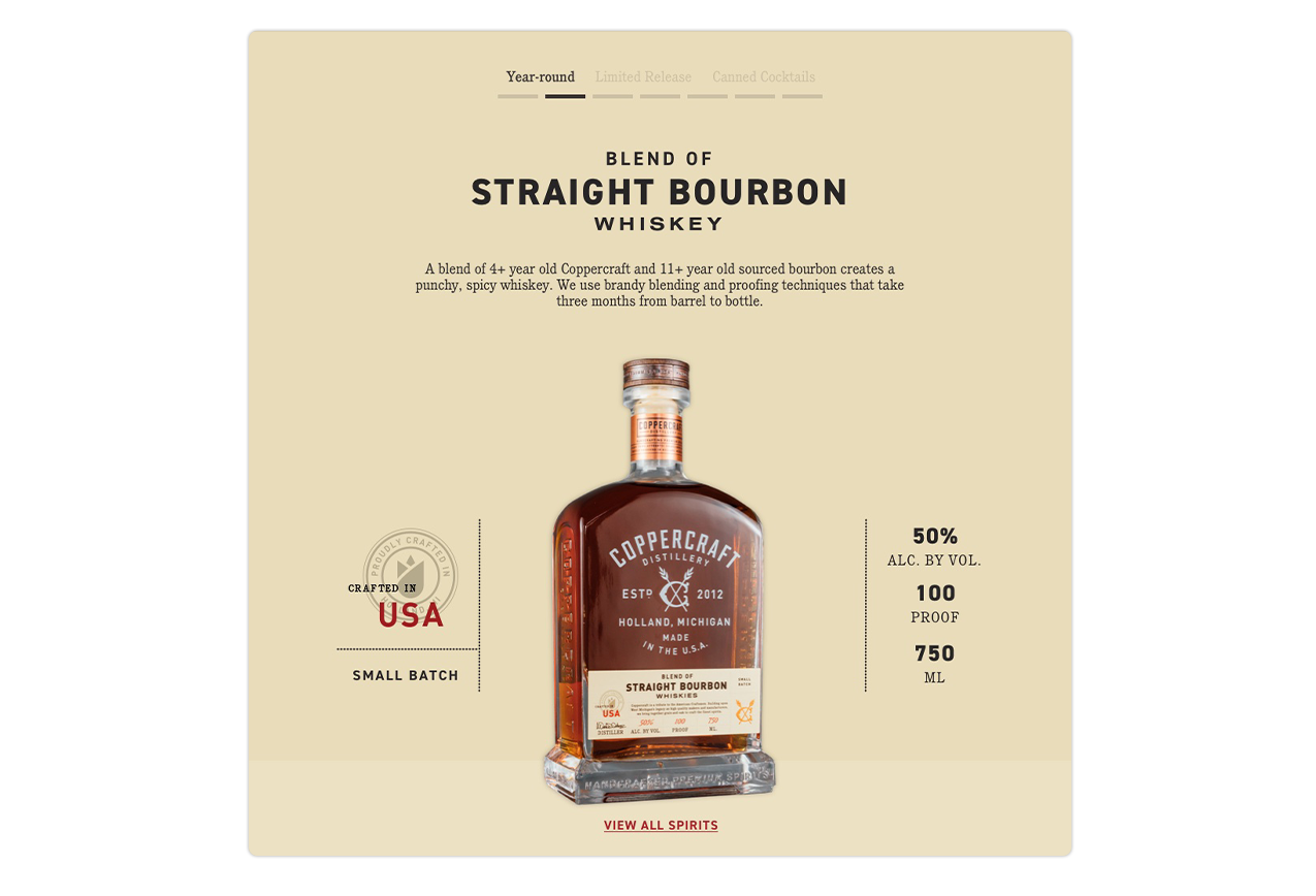 Blend of Straight Bourbon Whiskey